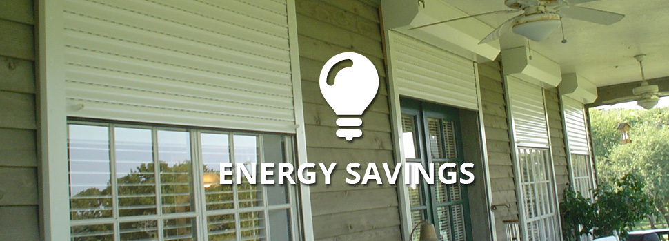 energy savings - Rolltex Shutters