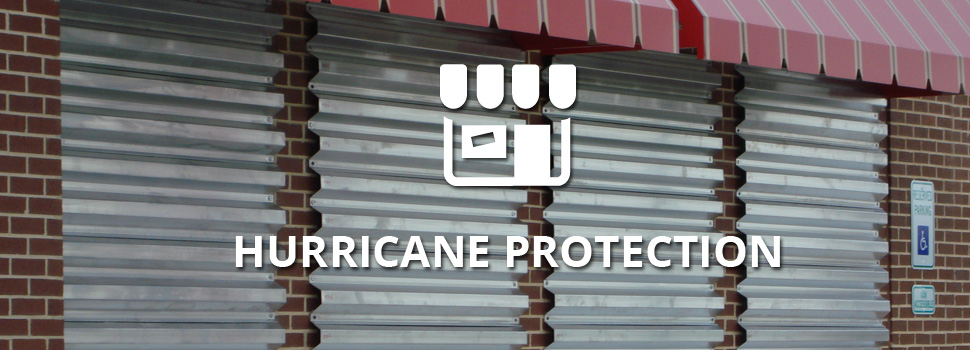 hurricane protection - Rolltex Shutters
