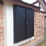 accordion shutters by Rolltex Shutters