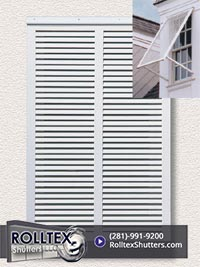 bahama shutters from Rolltex Shutters