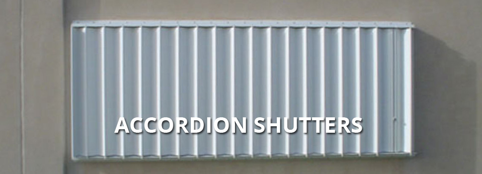 Accordion Shutters - Rolltex Shutters
