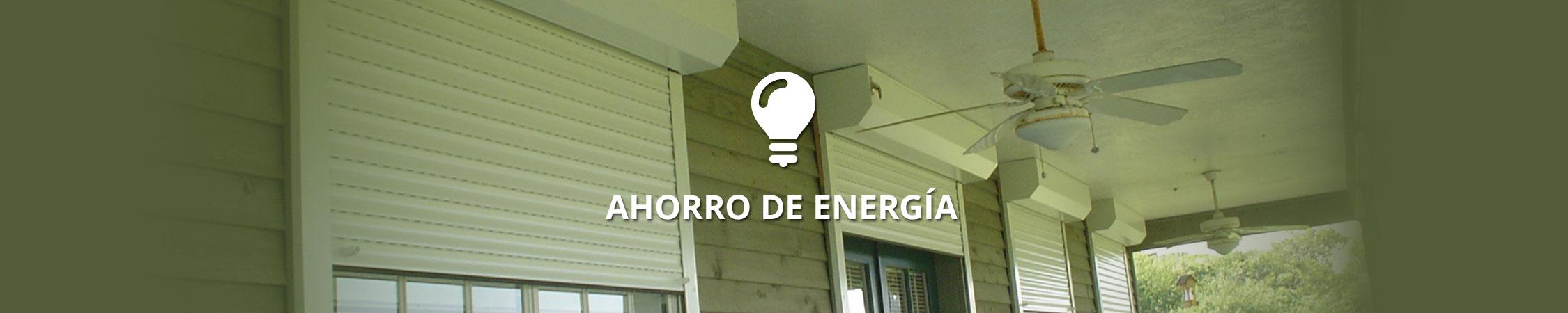 Ahorro de Energia - Rolltex Shutters