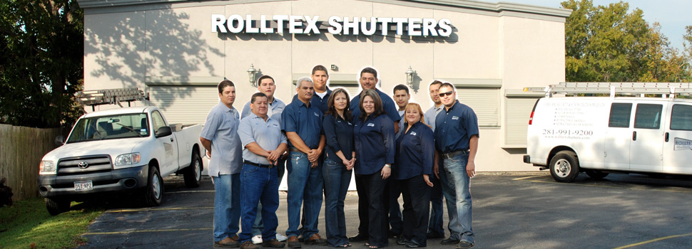 Rolltex Shutters team photo