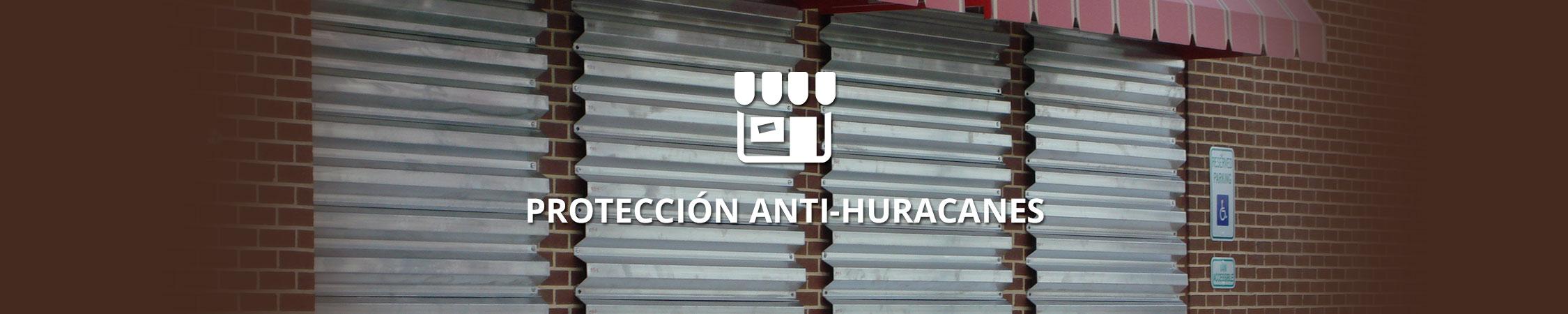 Proteccion Anti-huracanes - Rolltex Shutters