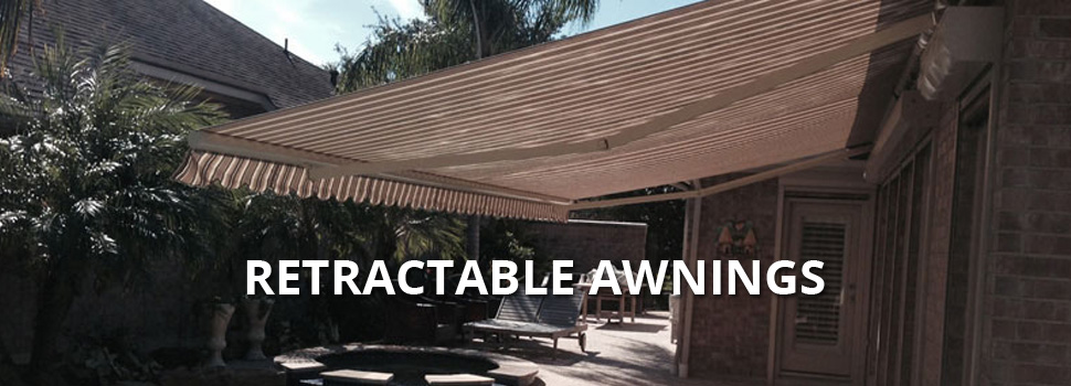 Retractable Awnings - Rolltex Shutters